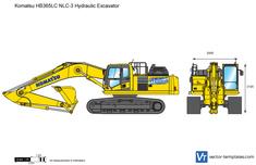 Komatsu HB365LC NLC-3 Hydraulic Excavator