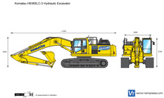 Komatsu HB365LC-3 Hydraulic Excavator