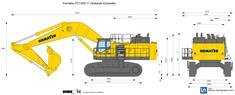 Komatsu PC1250-11 Hydraulic Excavator