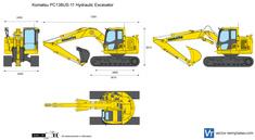 Komatsu PC138US-11 Hydraulic Excavator