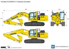 Komatsu PC230NHD-11 Hydraulic Excavator