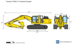 Komatsu PC360LC-11 Hydraulic Excavator