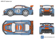 JBS9 GT cartoon car