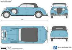Mercedes-Benz 320 Convertible W142