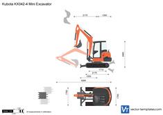 Kubota KX042-4 Mini Excavator