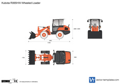 Kubota R065HW Wheeled Loader