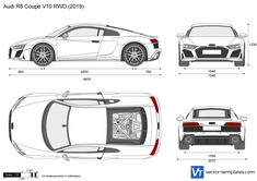 Audi R8 Coupe V10 RWD