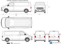Volkswagen Transporter T6.1 Panel Van LWB