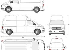 Volkswagen Transporter T6.1 Panel Van LWB High Roof
