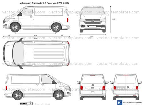 Volkswagen Transporter T6.1 Panel Van SWB