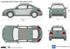 Volkswagen Beetle Classic 1969 edition