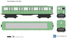 Paris Old Metro (until 1983)