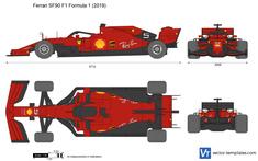 Ferrari SF90 F1 Formula 1