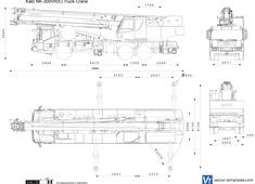 Kato NK-300VR(E) Truck Crane