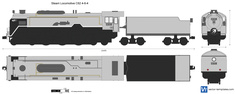 Steam Locomotive C62 4-6-4