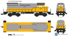 Union Pacific Diesel Engine