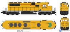 Union Pacific GP38-2L Phase 1C