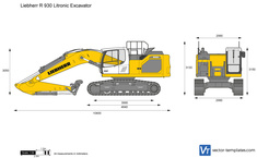 Liebherr R 930 Litronic Excavator