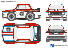 RallysCool cartoon car