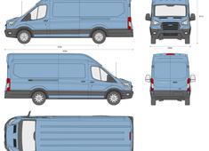 Ford Transit LWB extended length