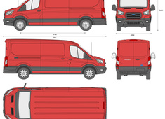 Ford Transit LWB low roof