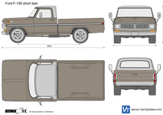 Ford F-100 short bed