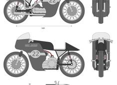 Harley Davidson KR road racer