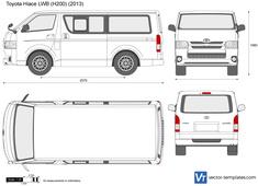 Toyota Hiace LWB H200