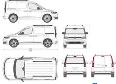 Volkswagen Caddy L1H1 Panel Van