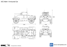 AEC Mark 1 Armoured Car