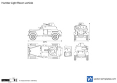 Humber Light Recon vehicle