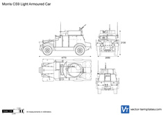 Morris CS9 Light Armoured Car