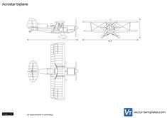 Acrostar biplane
