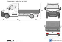 Renault Master Pickup single cab