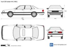 Audi 200 sedan 44
