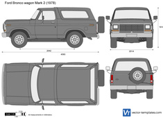 Ford Bronco wagon Mark 2