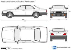Nissan Gloria Gran Turismo Ultima PBY32
