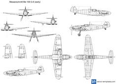 Messerschmitt Me 109 G-6 (early)