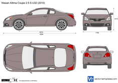 Nissan Altima Coupe 2.5 S U32