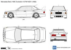 Mercedes-Benz 190E Evolution II DTM W201
