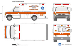 Ford E-350 Ambulance