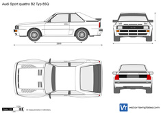Audi Sport quattro B2 Typ 85Q