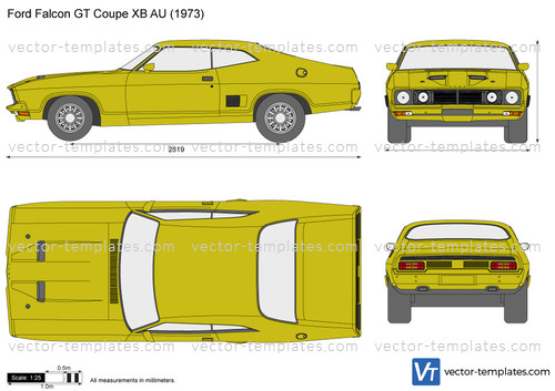 Ford Falcon GT Coupe XB AU