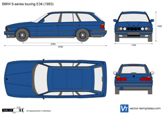 BMW 5-series touring E34