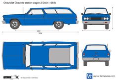 Chevrolet Chevelle station wagon 2-Door