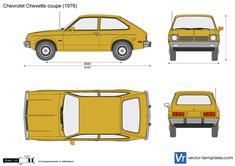 Chevrolet Chevette coupe