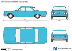 Chevrolet Corvair 500 69 sedan