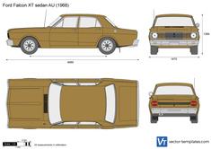 Ford Falcon XT sedan AU