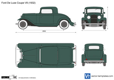 Ford De Luxe Coupe V8