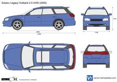 Subaru Legacy Outback 2.5 AWD